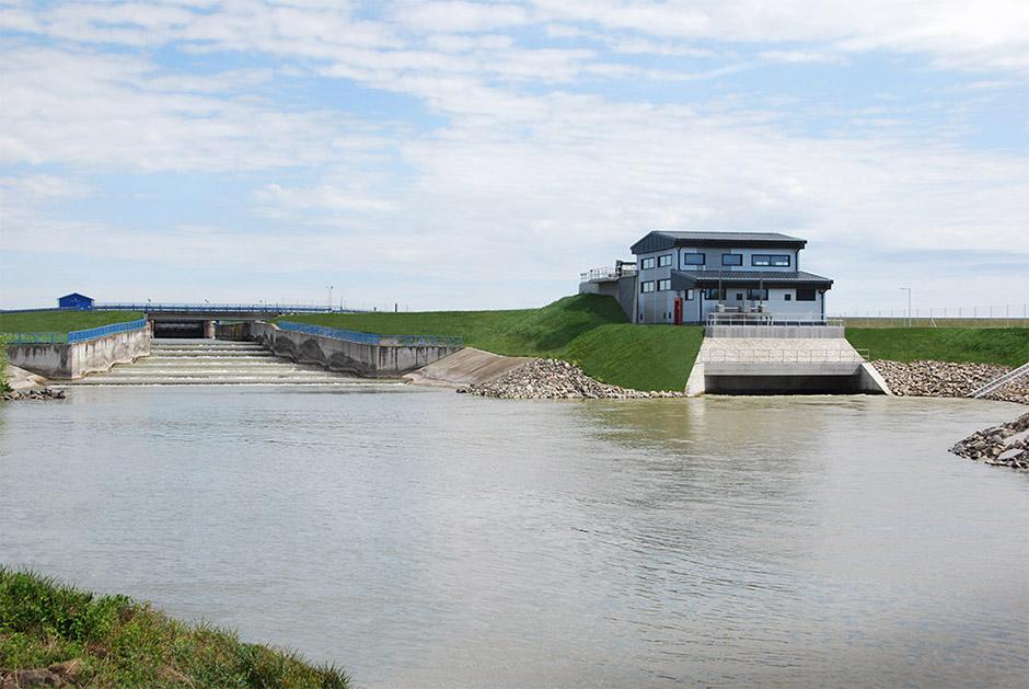 Malá vodná elektráreň Dobrohošť