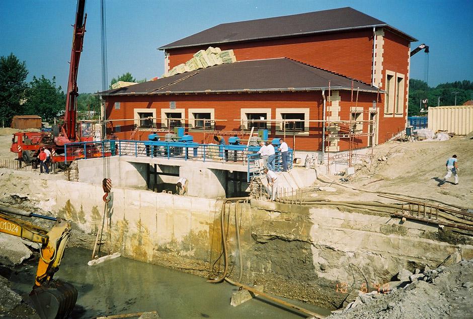 Malá vodná elektráreň Veľké Blahovo
