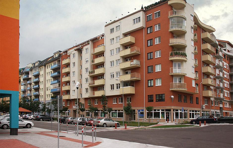 Polyfunkčný objekt Bosákova Šustekova I.etapa