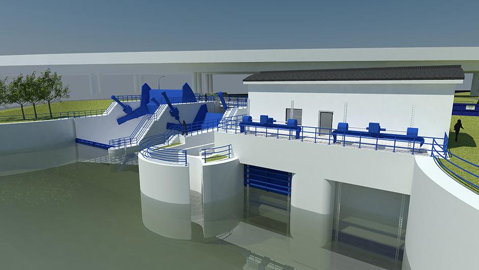 Malá vodná elektráreň Švošov