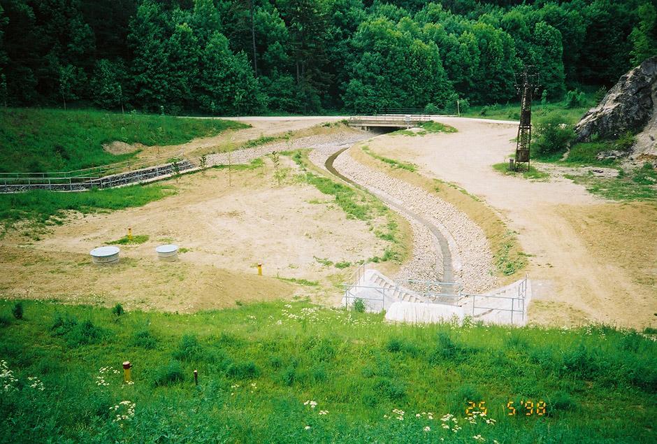 Vodná nádrž Brezová pod Bradlom