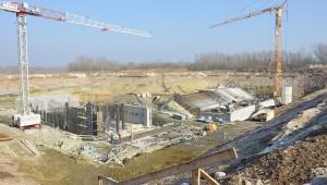 Vodné dielo Želiezovce – Stavba