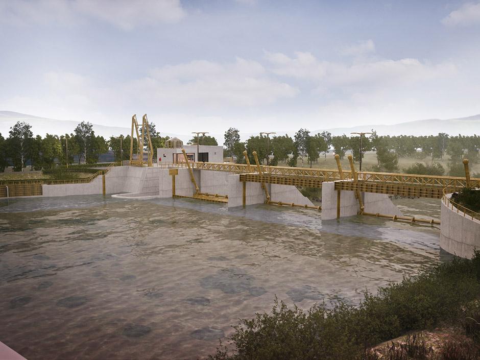 Vodné dielo Trenčianske Biskupice